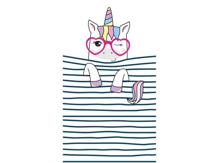 Ręcznik plażowy prostokątny mały 150x70 Stripes Unicorn REC47WZ8