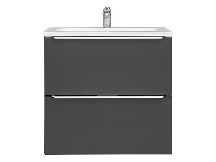 Podwieszana szafka łazienkowa pod umywalkę - Malta 3X Czarny mat 60 cm Wiszące Wysokość 57 cm Szafki Kategoria Szafki stojące