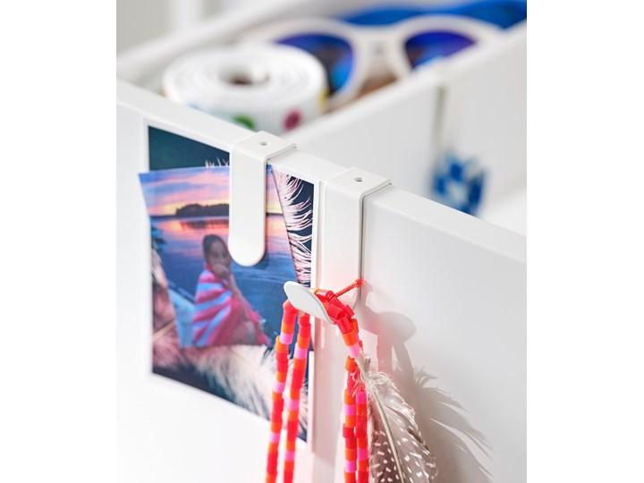 IKEA SMÅSTAD Szafa z elementem wysuwanym, biały, 80x57x108 cm Płyta laminowana Szerokość 80 cm Głębokość 57 cm Kategoria Szafy do garderoby