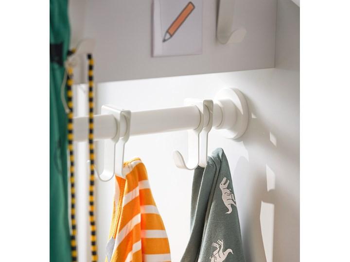 IKEA SMÅSTAD Szafa z elementem wysuwanym, biały, 80x57x108 cm Płyta laminowana Typ Gotowa Głębokość 57 cm Szerokość 80 cm Rodzaj frontów Mat