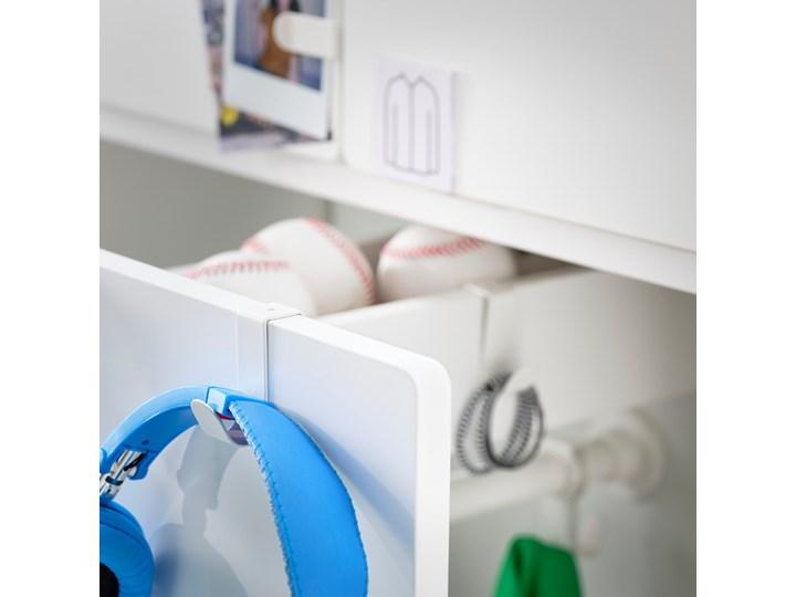 IKEA SMÅSTAD Szafa z elementem wysuwanym, biały, 80x57x108 cm Szerokość 80 cm Płyta laminowana Lustro Głębokość 57 cm Rodzaj drzwi Uchylne