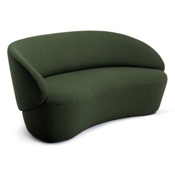 Zielona wełniana sofa EMKO Naïve, 162 cm