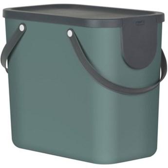 Kosz na śmieci ROTHO 1024905092 Albula 25 L Zielony