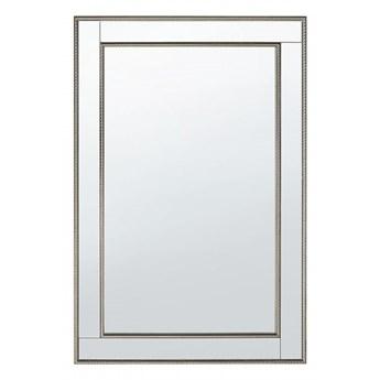 Lustro ścienne srebrne 61 x 91 cm FENIOUX kod: 4260602377467