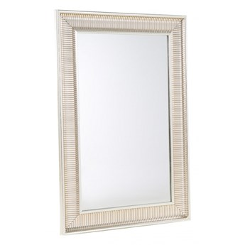 Lustro złote - w ramie - do łazienki - do salonu - 60 x 90 cm - CASSIS kod: 4260580929115