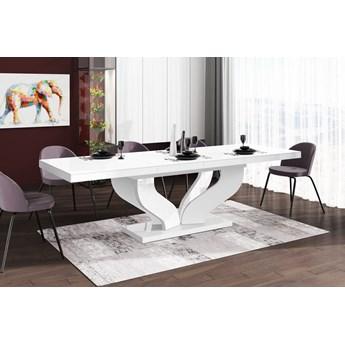Stół rozkładany VIVA 160-256 Biały połysk - Meb24.pl