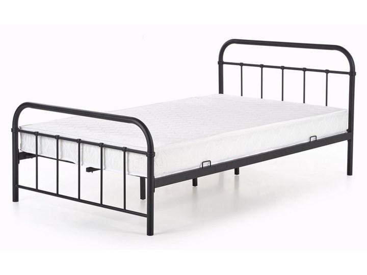 Łóżko z metalową ramą Linda 120