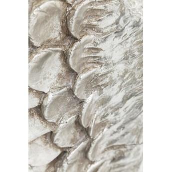 Dekoracja ścienna Angel Wings 61x106 cm srebrna