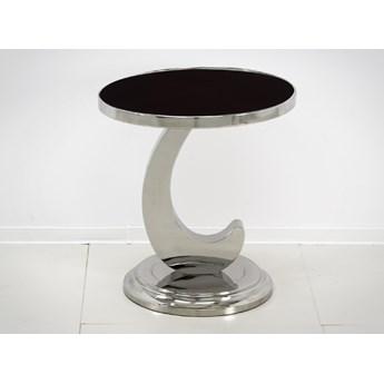 Stolik kawowy z czarnym blatem D002 50 x 50 x 54 cm outlet
