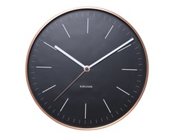 Zegar ścienny Minimal black by Karlsson