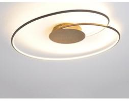 Ładna lampa sufitowa LED Joline, rdzawy brąz