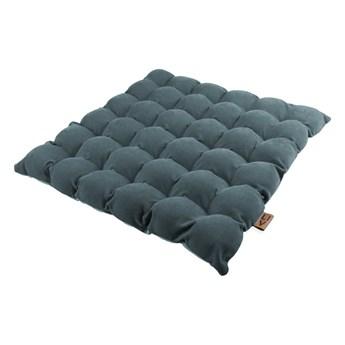 Szaroniebieska poduszka do siedzenia z piłkami do masażu Linda Vrňáková Bubbles, 65x65 cm