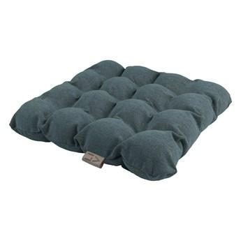 Szaroniebieskapoduszka do siedzenia z piłkami do masażu Linda Vrňáková Bubbles, 45x45 cm