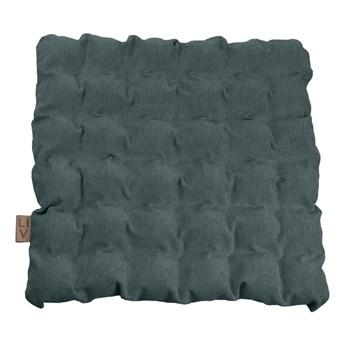 Szaroniebieska poduszka do siedzenia z piłkami do masażu Linda Vrňáková Bubbles, 55x55 cm