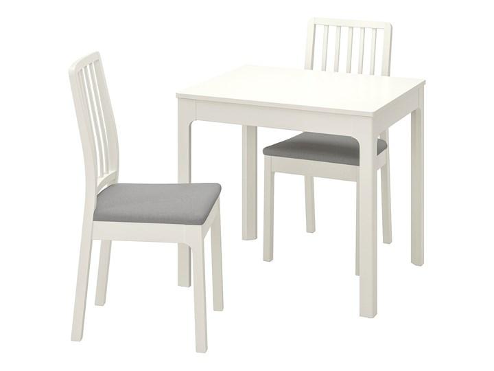 EKEDALEN / EKEDALEN Stół i 2 krzesła Kolor Szary