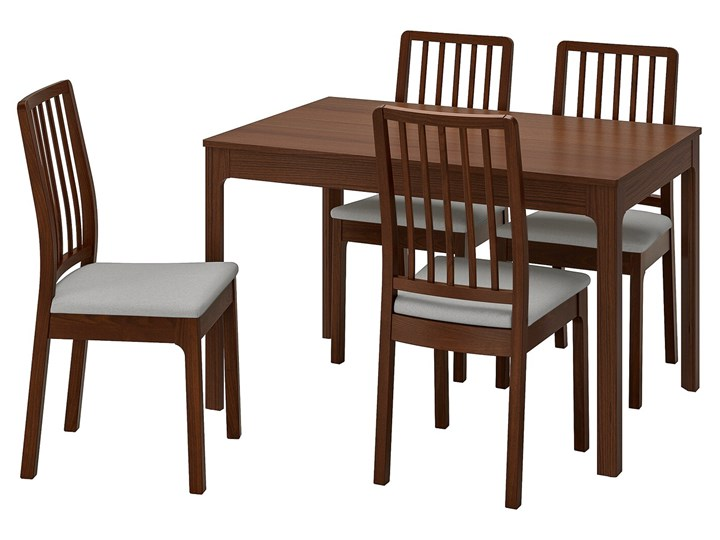 EKEDALEN / EKEDALEN Stół i 4 krzesła Kategoria Stoły z krzesłami Kolor Brązowy