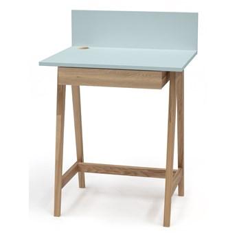 Skandynawskie biurko z jedną szufladą Luka 65