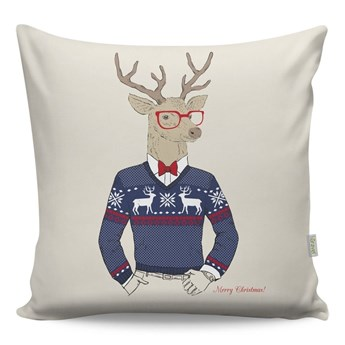Poduszka Mr. Deer, 43x43 cm