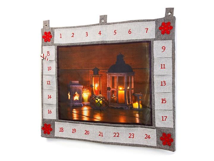 Kalendarz adwentowy LED | bonprix Kolor Szary