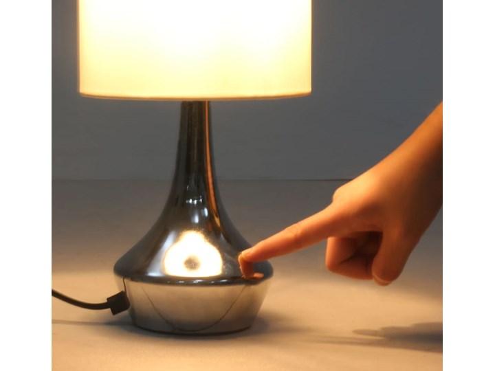 Dotykowa lampka nocna do sypialni 2 sztuki - EX145-Volma Wysokość 32 cm Lampa nocna Styl Glamour