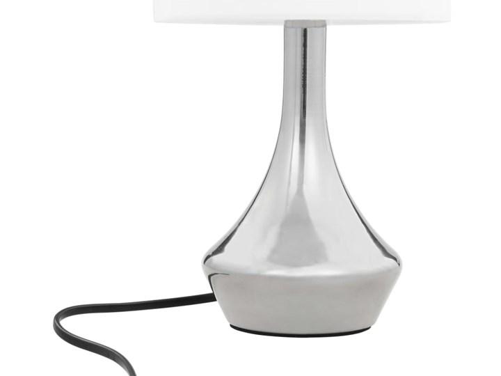 Dotykowa lampka nocna do sypialni 2 sztuki - EX145-Volma Wysokość 32 cm Lampa nocna Kolor Biały