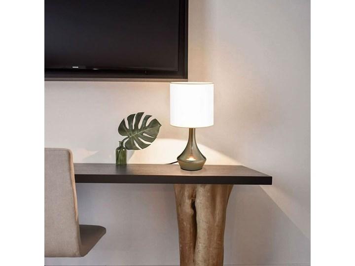 Dotykowa lampka nocna do sypialni 2 sztuki - EX145-Volma Wysokość 32 cm Lampa nocna Kolor Biały Styl Glamour