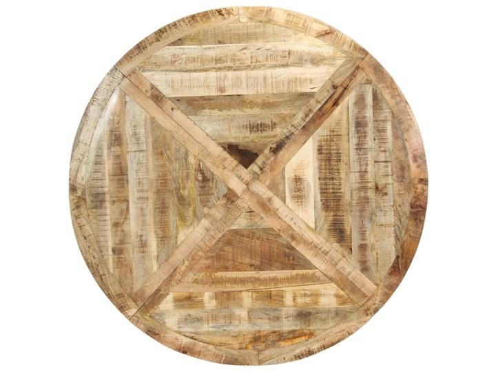 Okrągły stół z drewna mango – Gebel 3X Drewno Długość 150 cm  Wysokość 76 cm Pomieszczenie Stoły do salonu