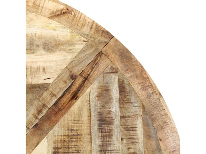 Okrągły stół z drewna mango – Gebel 3X Długość 150 cm  Drewno Pomieszczenie Stoły do salonu Wysokość 76 cm Kolor Beżowy