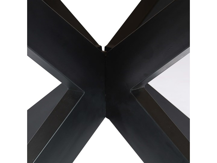 Okrągły stół z drewna mango – Gebel 3X Wysokość 76 cm Kategoria Stoły kuchenne Długość 150 cm  Drewno Pomieszczenie Stoły do salonu