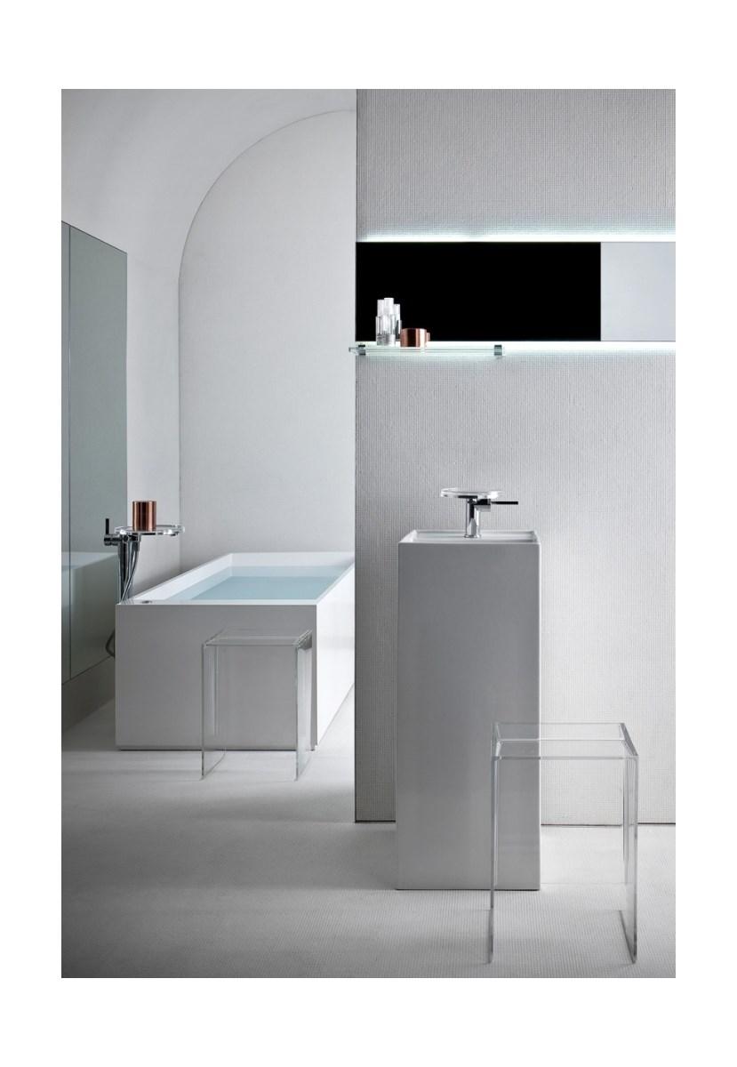 laufen kartell umywalka monolityczna wolnostoj ca 90 cm. Black Bedroom Furniture Sets. Home Design Ideas