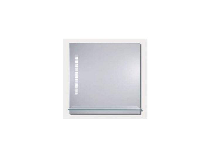 Lustro łazienkowe Z Półką I Oświetleniem Light 60x60