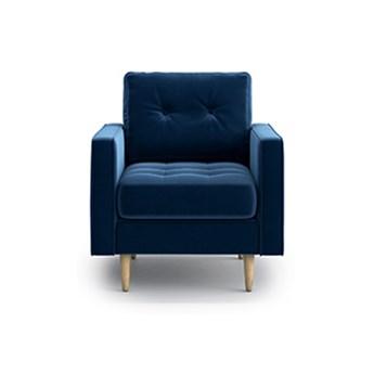 Fotel Esme II pikowany, Navy Blue