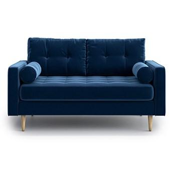 Sofa Esme II pikowana 2-osobowa, Navy Blue