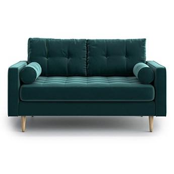Sofa Esme II pikowana 2-osobowa, Jade
