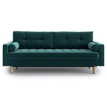 Sofa Esme II pikowana z funkcją spania, Jade