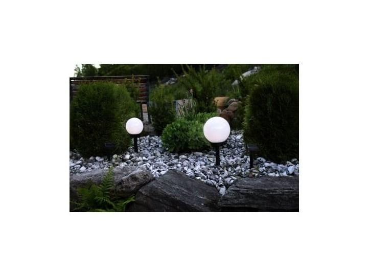 Solarna lampa ogrodowa LED Best Season Globe Stick, ⌀ 20 cm Lampa solarna Kategoria Lampy ogrodowe Lampa LED Kolor Czarny