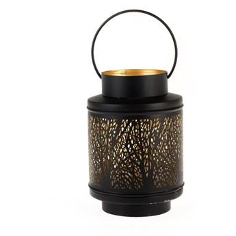Lampion metalowy Dakls Max, wys. 21 cm