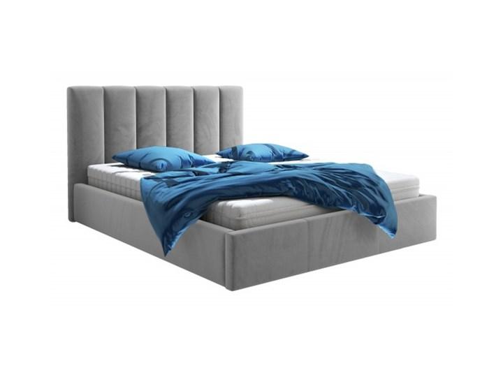 Łóżko tapicerowane GLEN 160X200 z pojemnikiem Kategoria Łóżka do sypialni