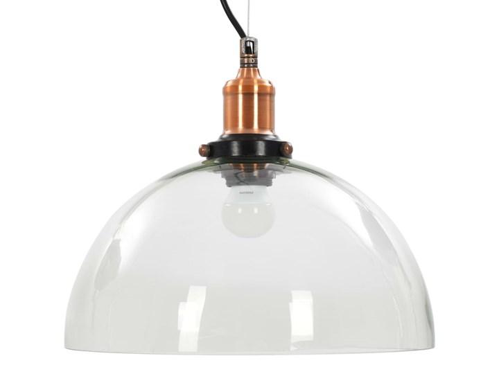 Przezroczysta okrągła lampa wisząca 2 sztuki - EX154-Orta Lampa z kloszem Szkło Metal Styl Industrialny