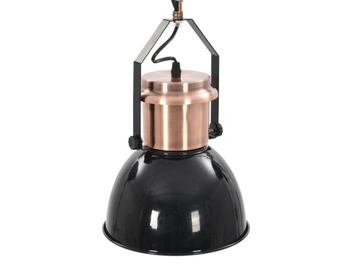 Czarna lampa wisząca w stylu loftowym 2 sztuki - EX156-Nilos Lampa z kloszem Metal Styl Industrialny