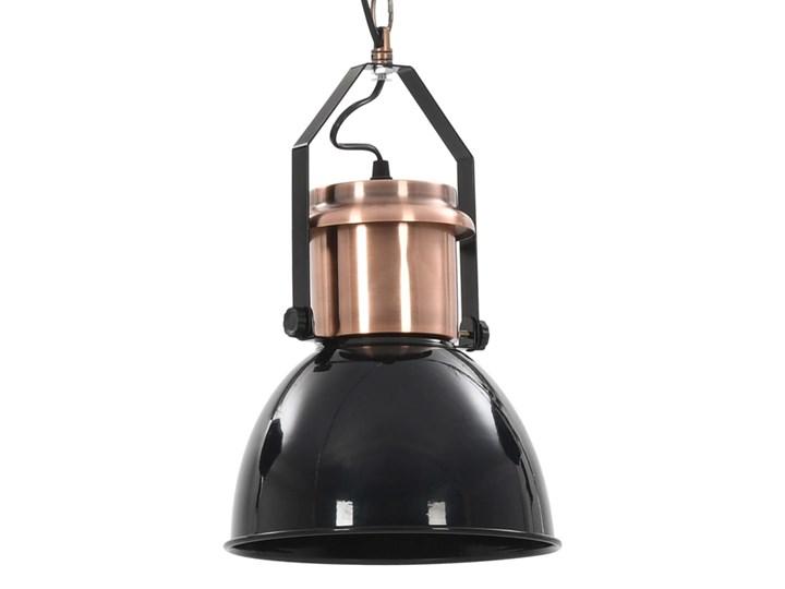 Czarna lampa wisząca w stylu loftowym 2 sztuki - EX156-Nilos Lampa z kloszem Metal Kolor Czarny Styl Industrialny