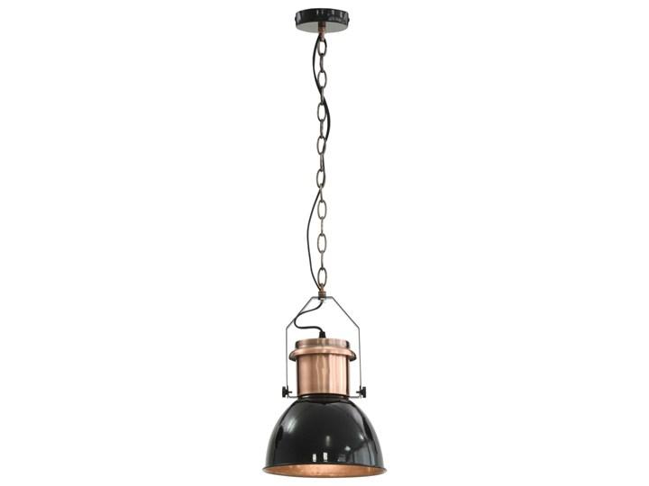 Czarna lampa wisząca w stylu loftowym 2 sztuki - EX156-Nilos Metal Lampa z kloszem Kategoria Lampy wiszące