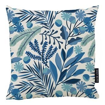 Poduszka z poszewką z bawełny Butter Kings Winter Flower, 45x45