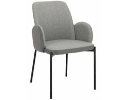 Wygodne krzesło z okrągłymi podłokietnikami Perro
