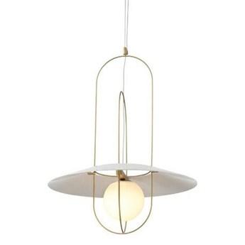 Lampa wisząca Fuente - mosiądz