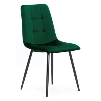 Krzesło MIKY zielony / noga czarna
