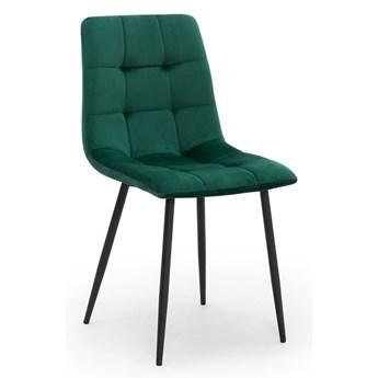 Krzesło ALEX zielony  / noga czarna