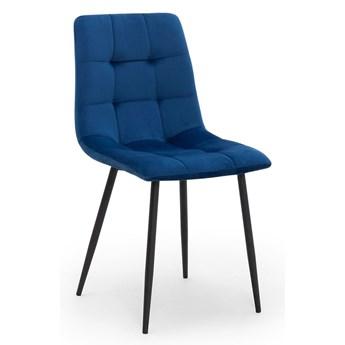 Krzesło ALEX granat / noga czarna