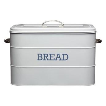 Szary metalowy pojemnik na chleb Kitchen Craft Nostalgia