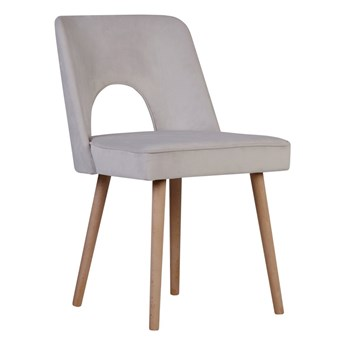 Krzesło Mond z wyciętym oparciem